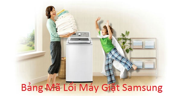 bang ma loi may giat samsung
